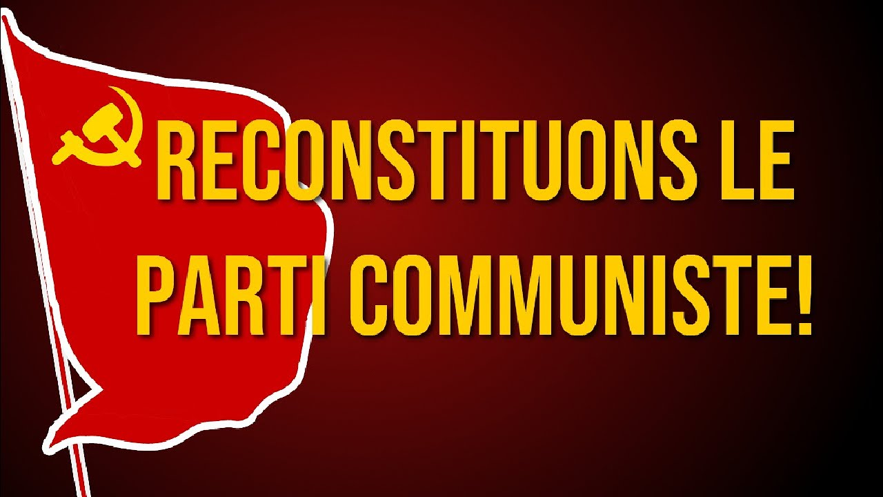 FRANCE - Video: 100 years Communist Party of France