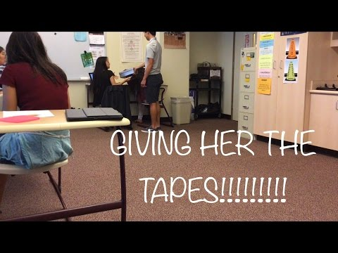 13 REASONS WHY SOCIAL EXPERIMENT: GIVING SOMEONE THE TAPES!!!