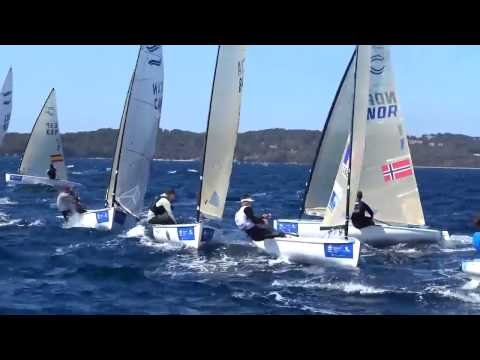 Finn Class at the World Cup Series in Hyeres, France - Day 5
