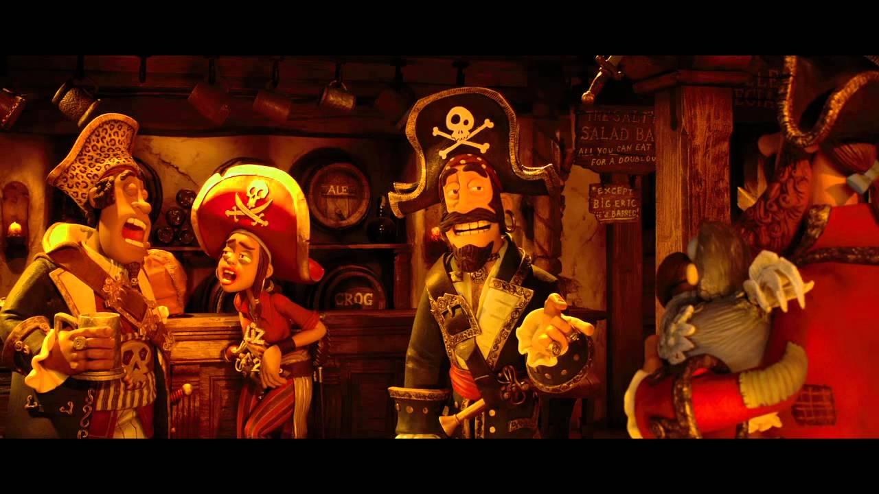 ¡Piratas! - Estreno 17 de Agosto - Tráiler oficial en Español