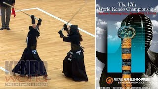 Women's Ind. QF Japan vs Hawaii - 17th World Kendo Championships (2018)