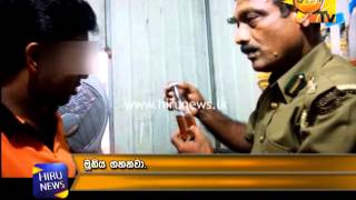 Hiru CIA: Raid Of Illegal Liquor Sales In Homagama