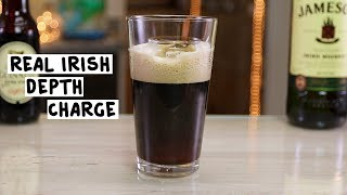 Real Irish Depth Charge - Tipsy Bartender