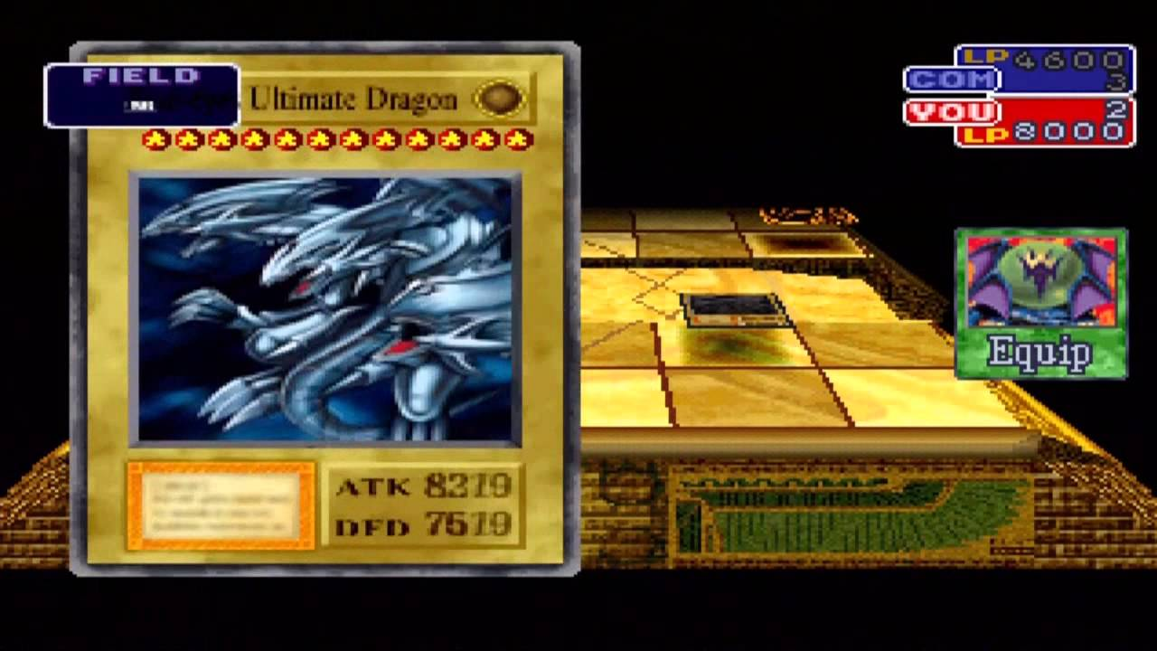 Let S Play Yu Gi Oh Forbidden Memories Extra Blue Eyes Ultimate