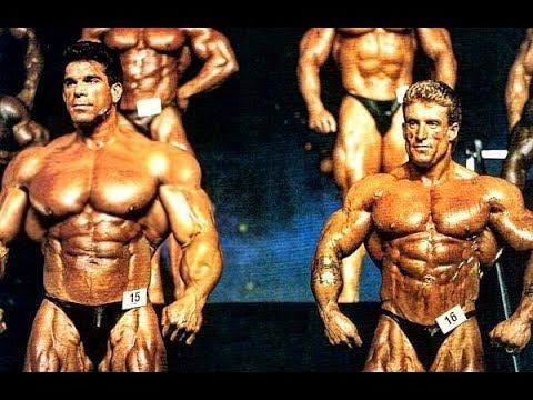 When Lou Ferrigno HULK Made Dorian Yates Look Small in the Mr. Olympia
