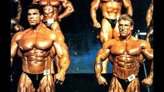 When Lou Ferrigno (HULK) Made Dorian Yates Look Small in the Mr. Olympia