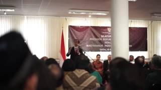 Kunjungan Presiden Jokowi ke KBRI Jerman