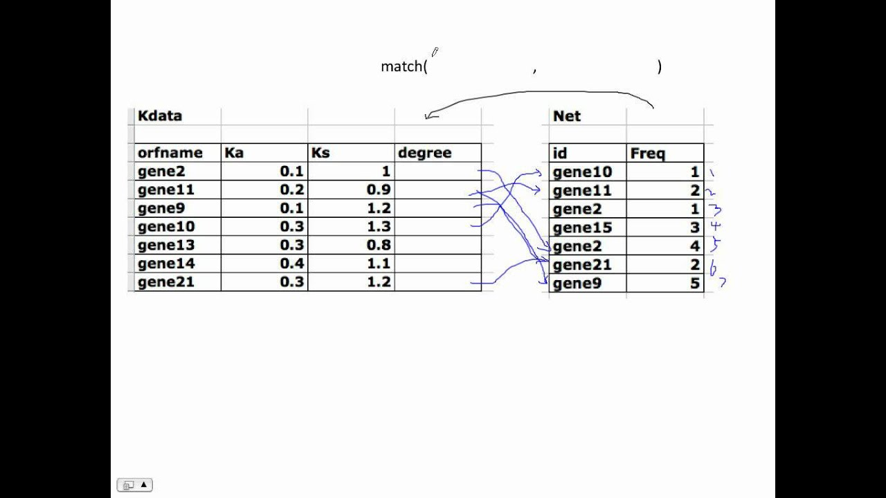 How To Use R Match Function To Merge Different Data Sets