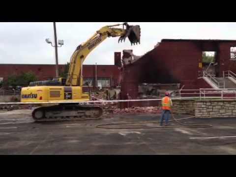 Barnard Elementary School demolition