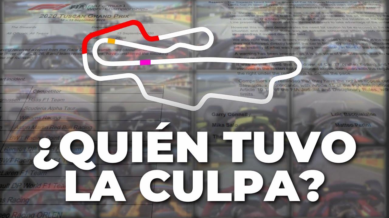 Análisis completo del accidente del GP de la Toscana - F1 2020 | Efeuno