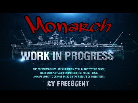 World of Warships [deutsch] – Monarch   Work in Progress