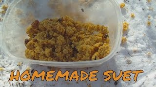 Homemade Crumbled Suet for Wildlife