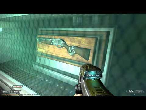 Doom3 - Lost Mission - Gameplay - Double Barreled Shotgun