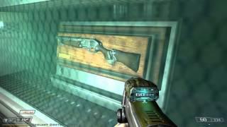 Doom 3 - Lost Mission - Gameplay - Double Barreled Shotgun