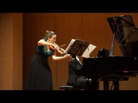 Julia Schröder (violin) plays Debussy Sonata - LIVE (full HD)