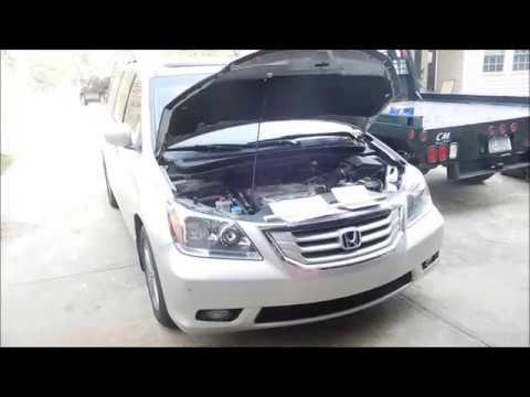 2008 Honda Odyssey Alternator replacement - YouTube