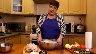 Бешбармак из курицы - простой рецепт от Марины