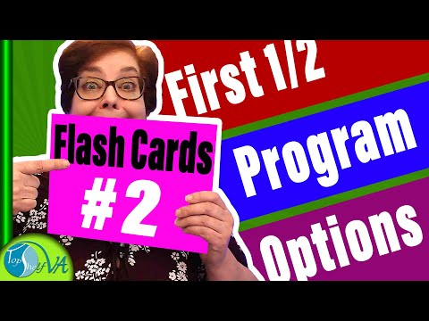 How to Use Flashcards to Learn Camtasia Keyboard Shortcuts | First 1/2 Program Options | #2