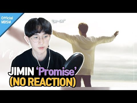 BTS JIMIN (지민) - Promise (약속) No REACTION | Haven't you heard the song yet? | ENG SUB