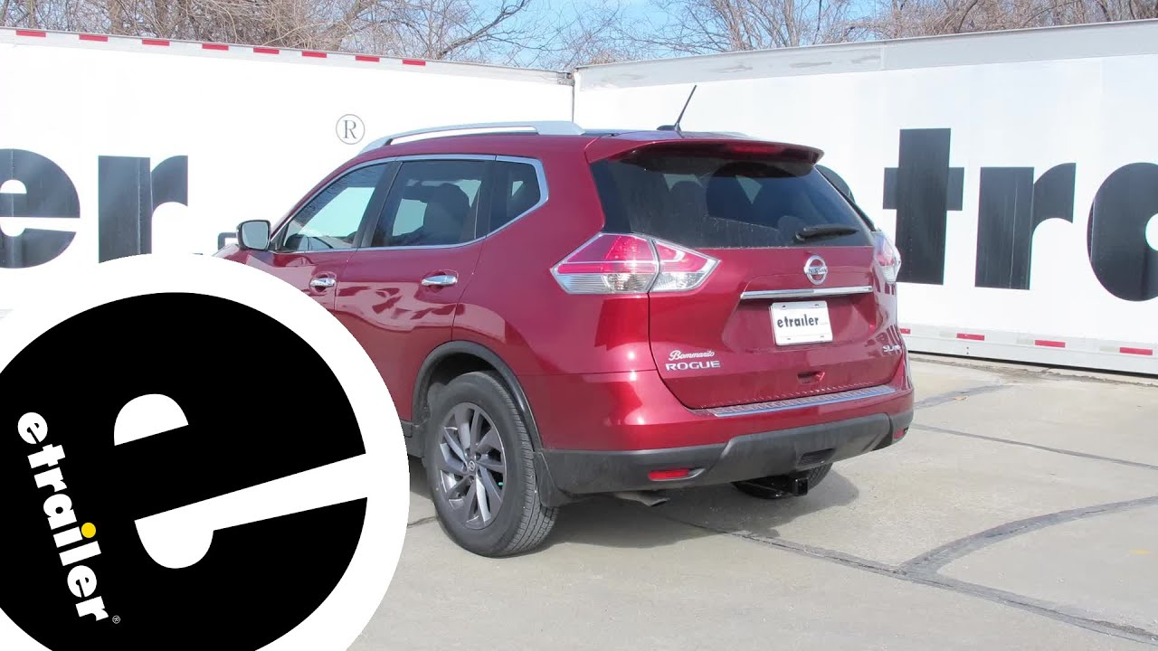 Wonderful Install Trailer Hitch 2016 Nissan Rogue 75902   Etrailer.com