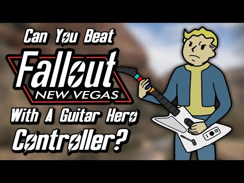 Can You Beat Fallout: New Vegas With A Guitar Hero Controller?