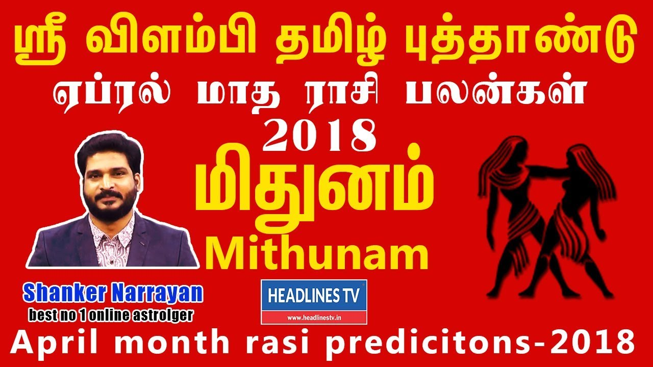 Mithunam Rasi 12222 Palan | New Year Tamil Astrology Predictions
