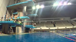 видео Клуб любителей прыжков в воду «МАСТЕРС»... - Спортивный комплекс