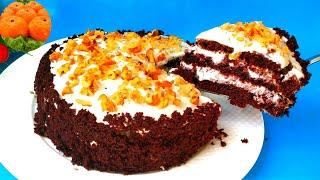 Торт Три стакана Без Миксера Без Весов Сочный без пропитки Я в шоке от Вкусного Десерта на кефире