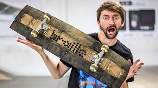 Can We Break the Whiskey Barrel Skateboard?   You Make it We Skate Ep 234
