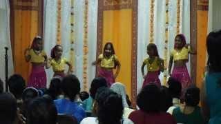 Barrackpore Vedic School dancers