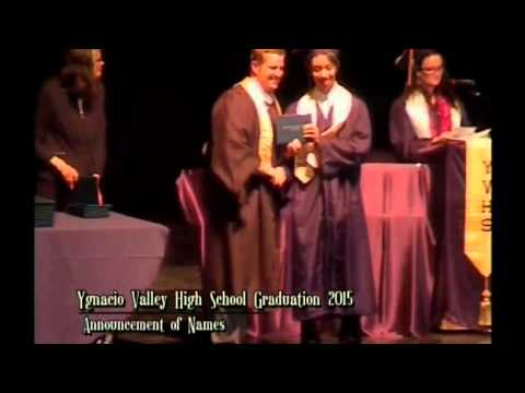 Ygnacio Valley High School Class of 2015 Graduation Ceremony