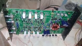Автоусилитель SUPRA SBD-A4270 кетеді қорғауға, жөндеу, диагностика, перепайка транзисторлардың