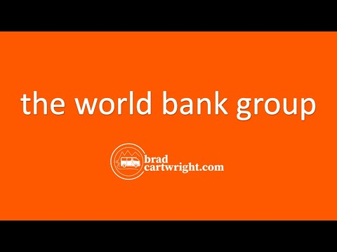 Aid, Debt, and Economic Development Series:  World Bank Group