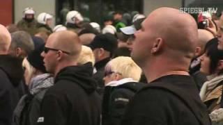 Neonazis gegen Linke: Konfrontation nach Brandanschlag