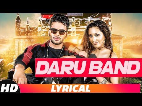 Daru Band (Lyrical Video) | Mankirt Aulakh Ft Rupal Bal | Latest Punjabi Song 2018 | Speed Records