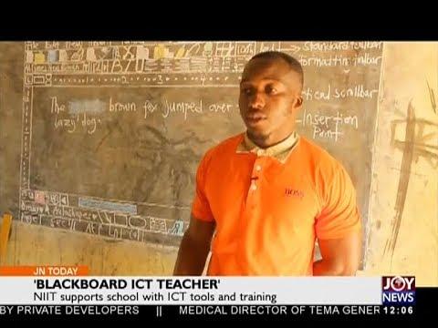 'Blackboard ICT Teacher' - Joy News Today (12-3-18)