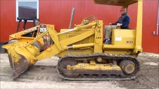 1979 Caterpillar 931 track loader for sale | sold at auction November 19, 2015