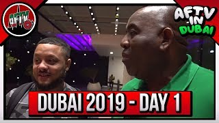 Arsenal Are In Town & So Are We!!! | AFTV In Dubai Vlog 1 ft Troopz