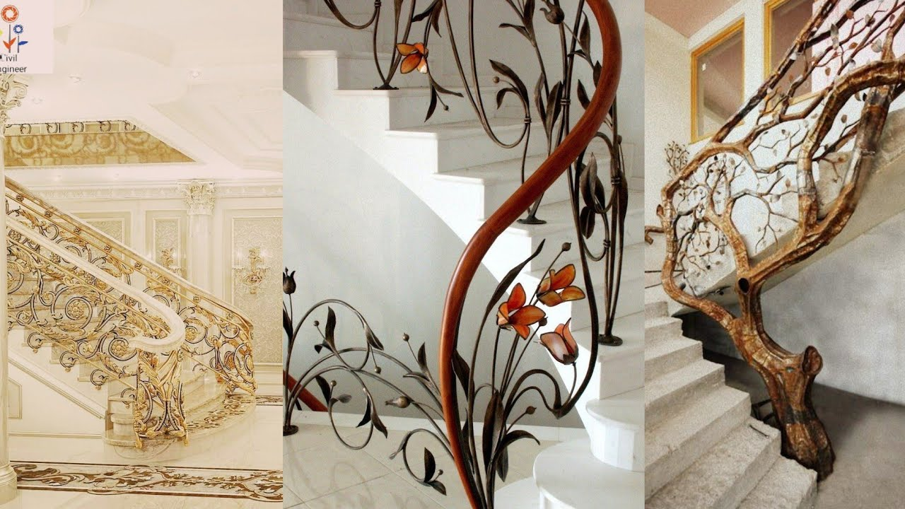 Unique Needs Modern Design House Stair Railing Design Best Stair | Best Railing Design For Stairs | Steel | Modern Stair | Steel Railing | Stainless Steel | Staircase Remodel
