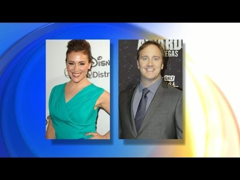 Jay Mohr Takes Shot at Alyssa Milano's Post-Baby Figure