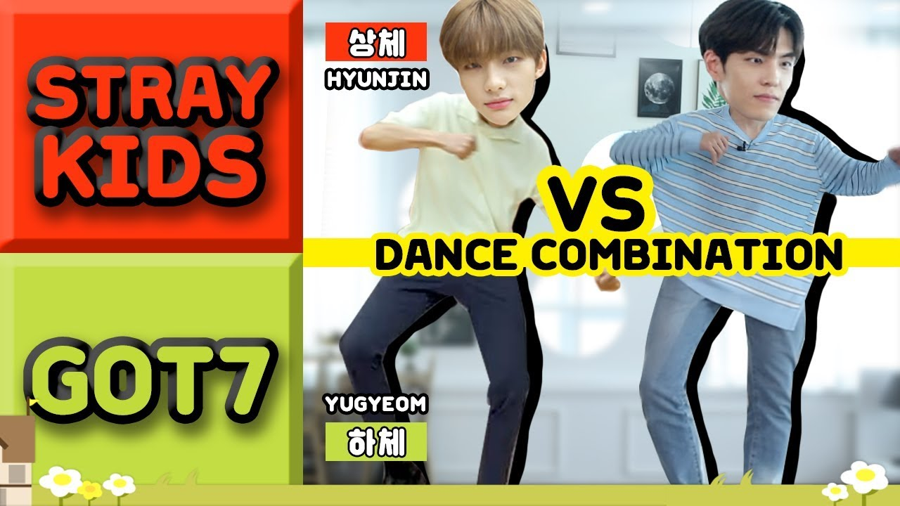 Mixing the most difficult dance routines of JYP idol groups #GOT7 X #SKZ X  #DAY6