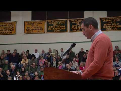Vermont Board of Education - Public Forum on Rule 2200 12.12.16