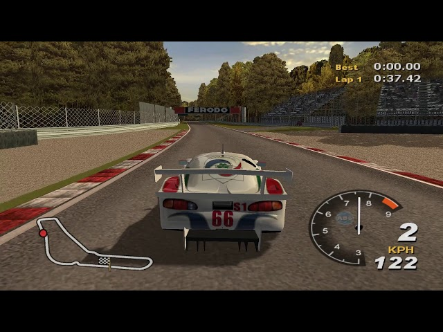 A lap with every car in Total Immersion Racing around Monza