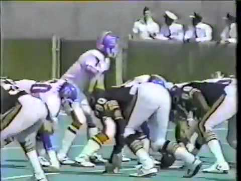 1983 Chicago Bears vs QB John Elway (rookie) & the Denver Broncos