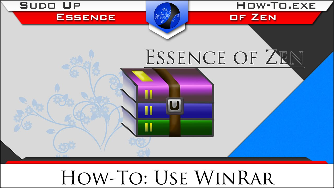 How to use WinRar | How-To exe