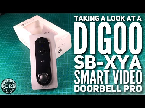 Digoo SB-XYA Smart Video Doorbell Pro - First look