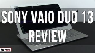 Sony Vaio Duo 13 review: THE slider!