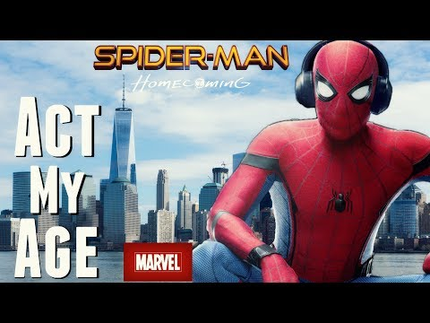 """Spider-Man: Homecoming """"Act My Age"""" Music Video"""