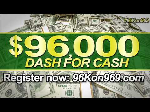 $96,000 Dash For Cash Is Back On The New HOT 96.9