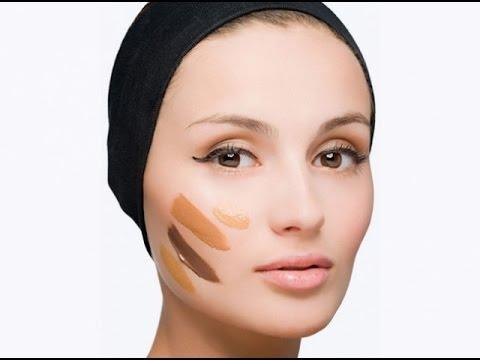❀♡Коррекция лица макияжем/Скульптурирование лица❀♡